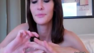 Tease And Denial Session While Locked In Chastity