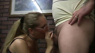 Ponytailed Suck And Wank