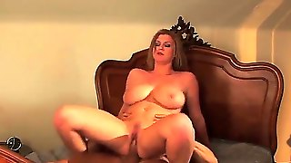 Turned On Pale Brunette Milf Sara Stone Heavy Make Up Gets Rammed Hard By Long Haired Stud With Muscled Body And Enjoys Getting Her Enormous Juicy Tits Sprayed With Cum In Close Up