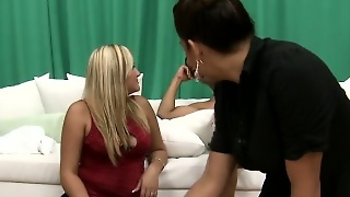 Clothed Cfnm Femdom Babe Sucks And Fucks