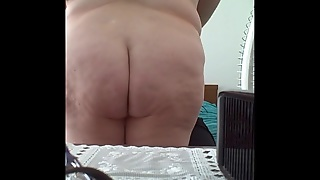 Feel Her Soft Belly, Hairy Pussy & Soft Fat Ass