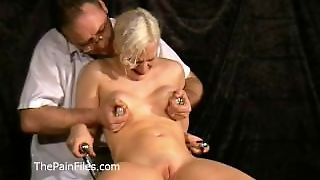 Medical Fetish Of Blonde Bdsm Babe Chaos In Needle Pain And Catheder Peeing