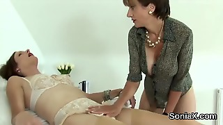 Unfaithful Uk Milf Lady Sonia Pops Out Her Huge Hooters