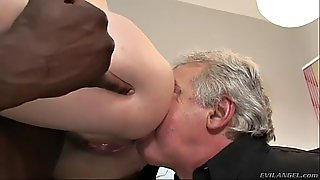 Milf Gets Banged By Bbc In Front Of Disabled Cuckold
