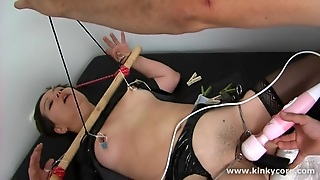 Bound Nipples And Squirting Orgasms