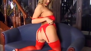 Blonde Anal, Lingerie Stockings, Fingering Through Panties, Milf Stockings Anal, Solo Honey, Anal Nylons, Shaved Milf Pussy, Stockings In Pussy