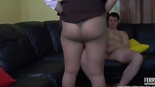 Youporn - Hot Milf Fucked In Pantyhose