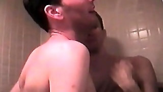 Romantic Gay Couple Jerk Each Other Before Some Erotic Assfucking