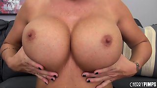 Hot Busty Milf Shay Fox Masturbating!