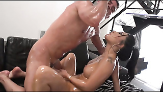 Asian Beauty Asa Oiled Up And Anal Fucked