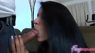Big Tits And Throat Fucked By Hard Cock