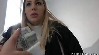 Blonde Czech Babe Nailed By Stranger Man After Getting Her Sexy Slutty Self Picked Up On The Streets