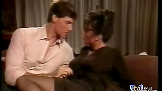 Stepson Seduced And Fucked Hot Mom With Her Stockings - Www.vintagepornbay.com