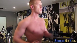 Muscled Straight Amateur