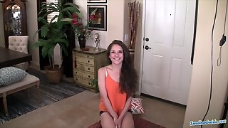 Ziggy Star's Swallow Load In Her First Scene