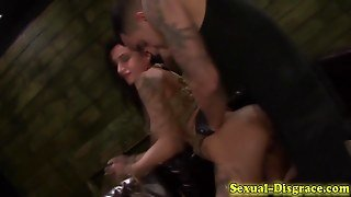 Slave Rough Bdsm Railed