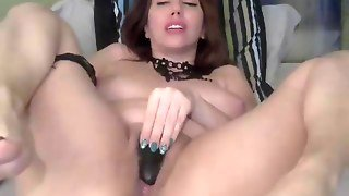 Big Tit Bbw Milf Pussy Toying On Webcam
