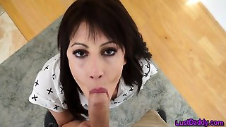 Teen Stepdaughter Blows Pov
