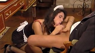 Maid, Vintage, Stockings, Blowjobs, Anal, Maid Anal