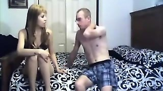 Couple Stripping Getting Ready To Fuck