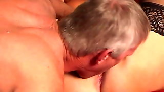 Teen Watches Granny Fuck