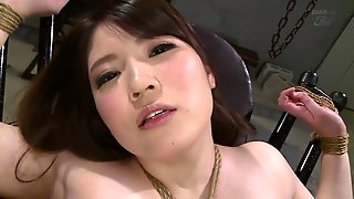 Bdsm Session With Chubby Brunette Japanese Woman Chitose Saegusa