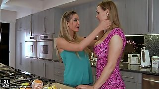 Sandy And Tanya Tate Have Passionate Lesbian Sex With Each Other
