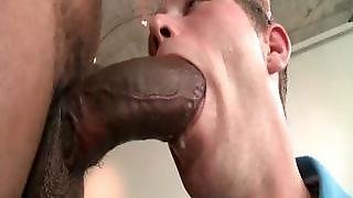 White Guy's Very First Black Cock Part6