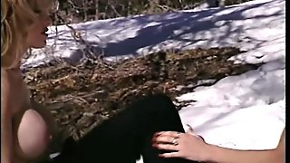 Lesbian Sex In The Snow