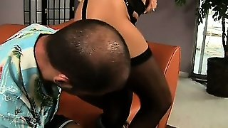 Stunning Jodi West Can't Wait To Suck On This Guy's Vigorous Prick