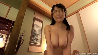 Hanyuu Arisa Is A Busty Japanese Woman Penetrated By A Hunk
