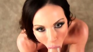 Gagging Slut Throats Pov