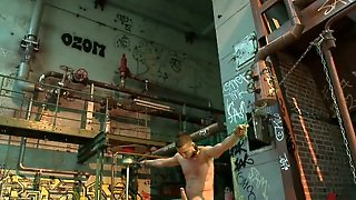 Chained Up Gay Spanked And Flogged And Fucked In Boiler Building