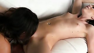 Brunette Women Are Licking Pussy