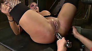 Slutty Ladies Have A Threesome With A Really Large Cock