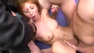 Amateur Teen Girlfriend Anal Group Sex With Facial Shots