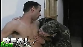 Huge Army Cock
