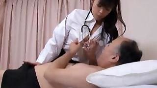 Japanese Doctor Is Horny For Cock Part2