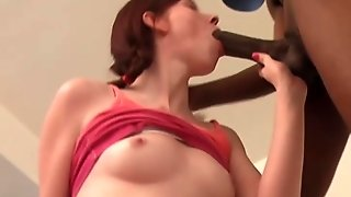 Fuck My Hairy Teen Pussy With That Big Black Dick