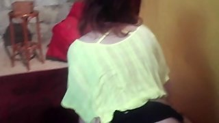 Teen Redhead Lapdances And Fucks In Doggy Style