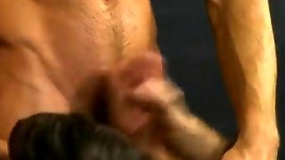 Gay Clip Of Gorgeous Young Boy Krys Perez Is Feasting On The