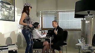 Abbie Cat And Lyen Parker Are Going To Spend Unforgettable Time With Rocco Siffredi In This Pov Scene! See How Chicks Hold Camera In Hands Taping How They Play With Dick By Hands.