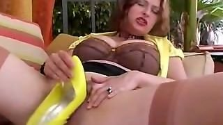 Mature Milf In Stockings Heel Pussy Toying - Heel In Pussy Heelslovers@p
