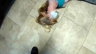 Milf Taped Up In The Kitchen