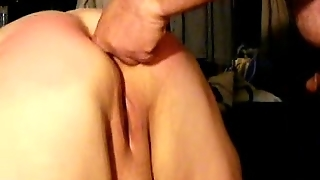 Bbw Spanked And Asshole Fingered