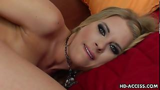 Blonde Tereza&8217S Solo Anal Dilso Show