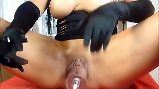 Nicole Dupapillon Extreme Pussy Pumping Part 1