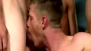 A Lot Of Cum On Dude Face