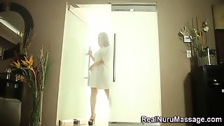 Massage Slut Rides Dick