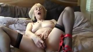 Fingers, Pornstar Lingerie, Hairy Vibrator, Toys Hairy, Hairy Mature In Lingerie, Old And Hairy, Her Vibrator, Mature On The Pussy
